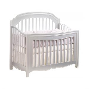 Alexa white convertible crib