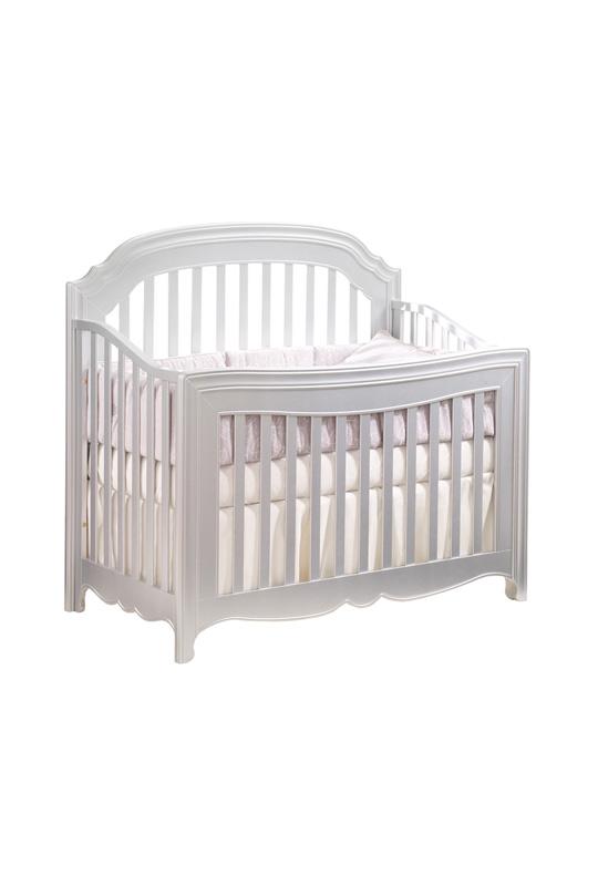 Alexa white convertible crib