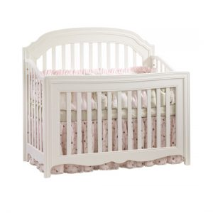 allegra white convertible crib
