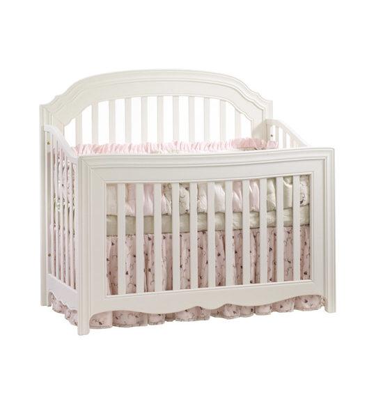 allegra white convertible crib