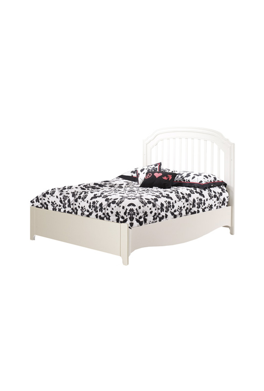 """Allegra Double Bed 54"""" (low profile footboard)"""
