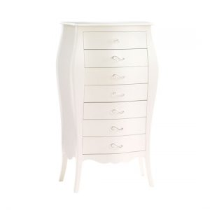 Allegra White Lingerie Chest