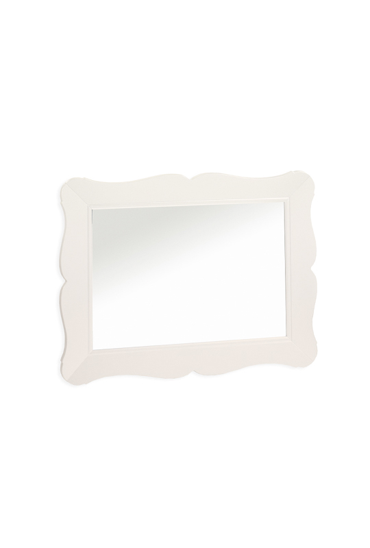Allegra white Mirror