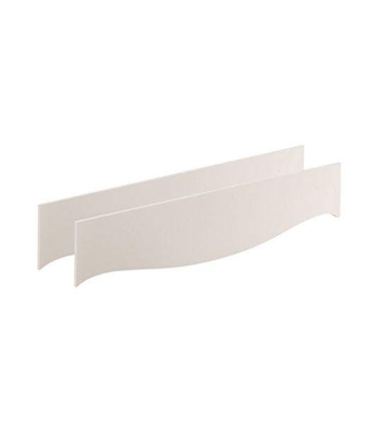 allegra white conversion rails