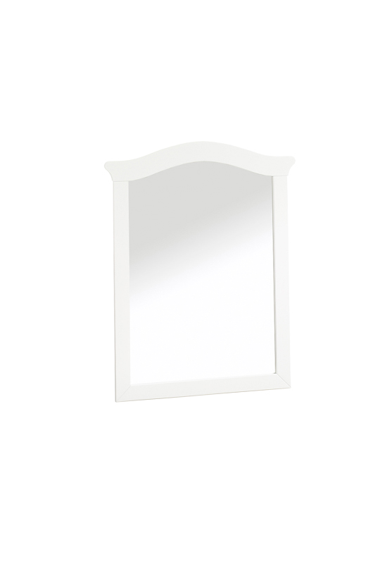 Bella Mirror in white