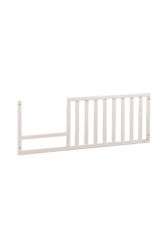 Bella Toddler Gate in white