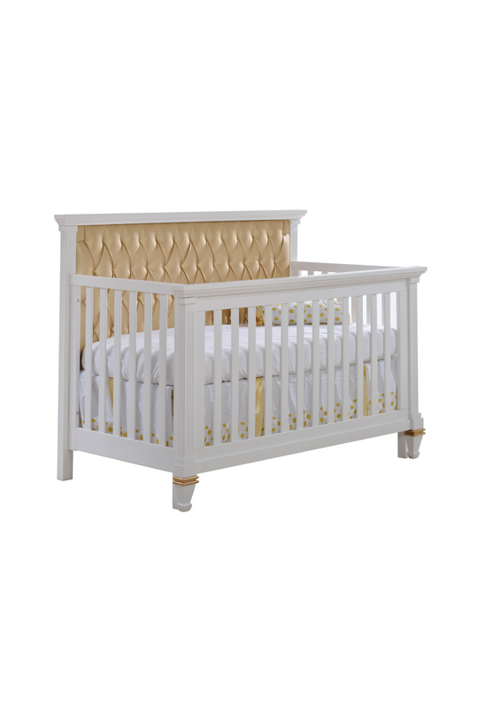 Belmont Gold Quot 5 In 1 Quot Convertible Crib With Gold Diamond