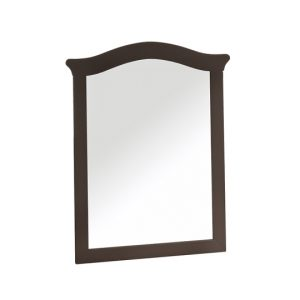 Belmont Mirror in dusk wood
