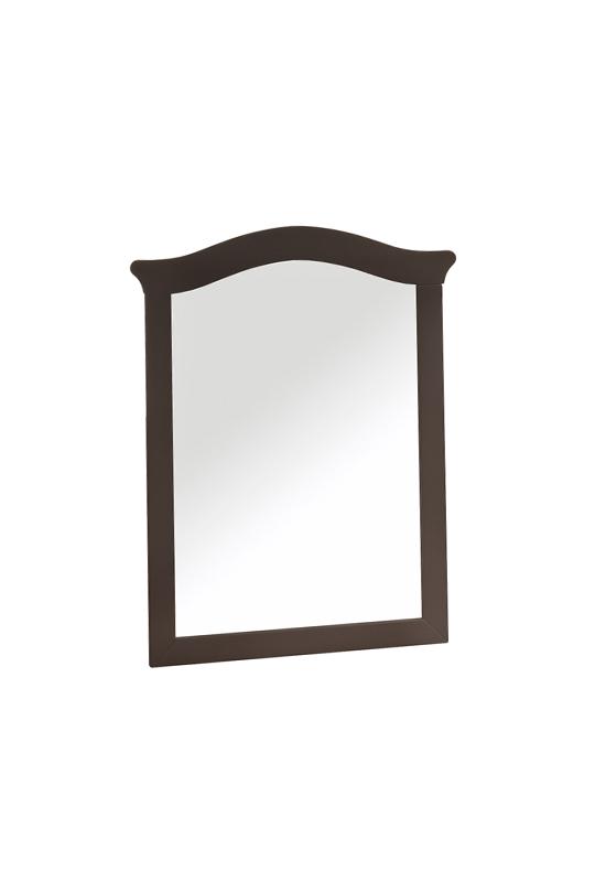 Belmont Mirror in dusk wood