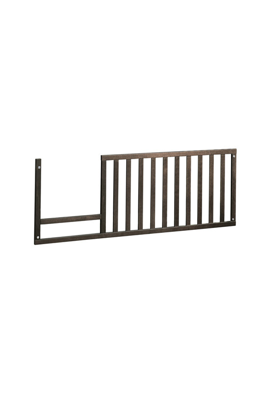 Belmont Toddler Gate in dusk wood