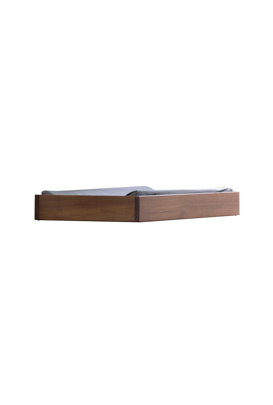Cognac wooden changing tray