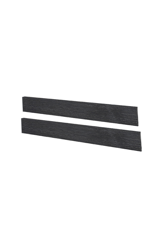Cortina Black wood Double Bed Conversion Rails