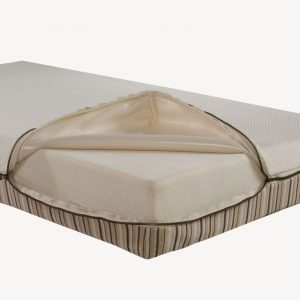 Essentia Natural Memory Foam Mattresses with zipper covering