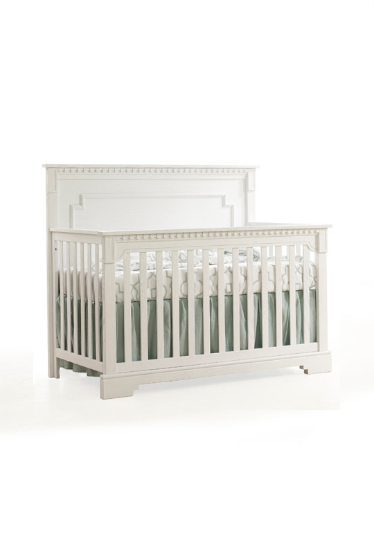 "Ithaca ""5-in-1"" White Convertible Crib"