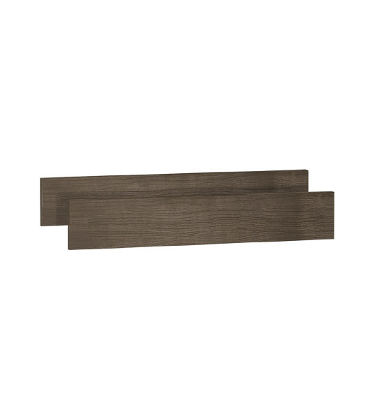 Ithaca dark wood Double Bed Conversion Rails