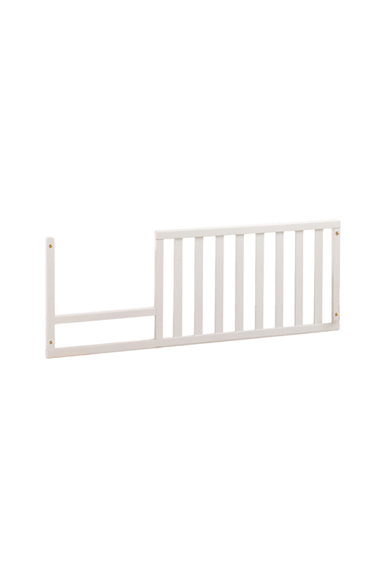 Ithaca Toddler Gate in white wood