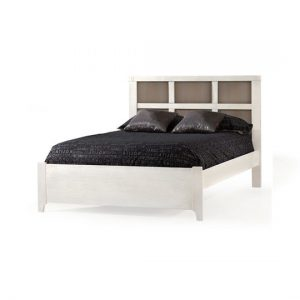 "Rustico Moderno Double Bed 54"" (low profile footboard)"