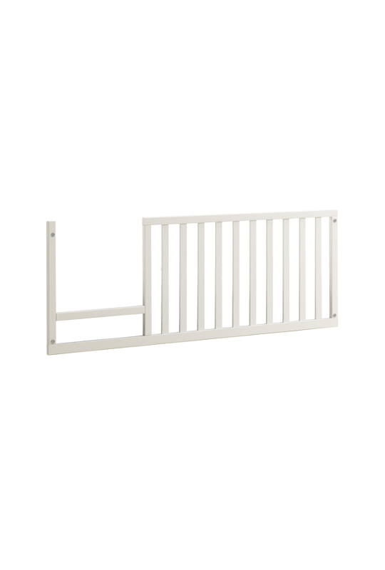 Rustico Moderno Toddler Gate white wood