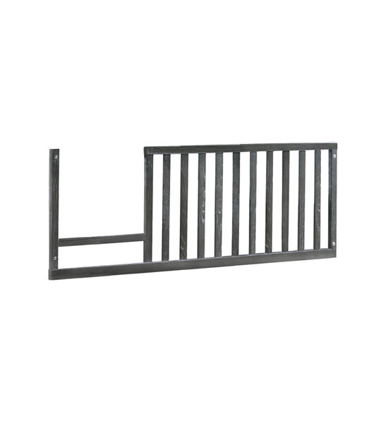 Rustic toddler gate in mink wood