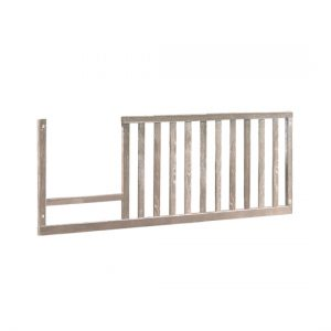Rustic toddler gate in sugarcane