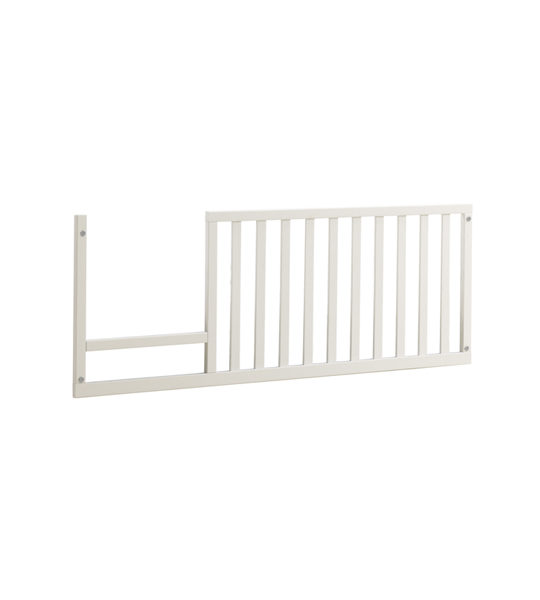 Rustic toddler gate white wood