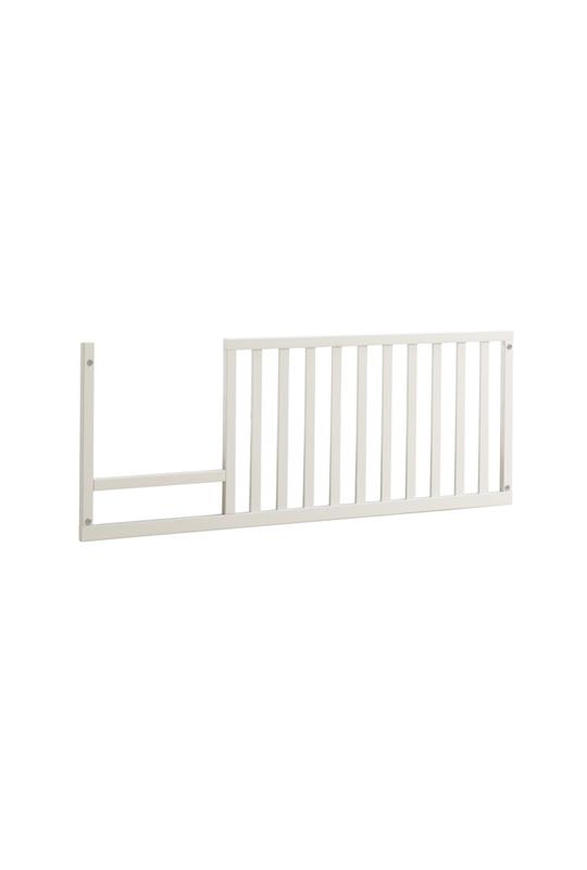 Rustic toddler gate white wood
