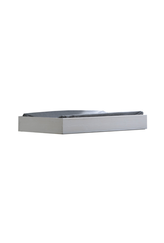 Rustico Moderno grey wooden Changing Tray