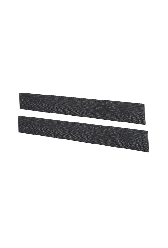 Sevilla or Valencia Double Bed Black wooden Conversion Rails