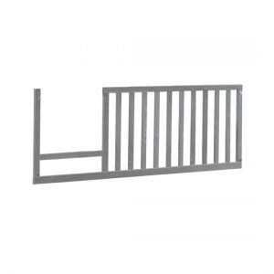 Valencia Toddler Gate in grey wood