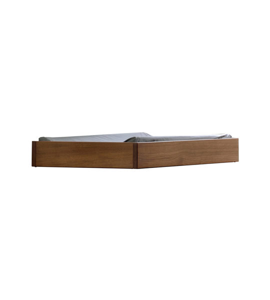 classic dark wooden changing tray