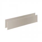 Bella Double Bed White Conversion Rails