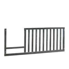 Ithaca Toddler Gate in dark grey wood