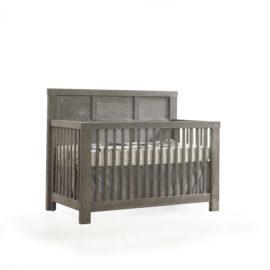 "Rustico ""5-in-1"" Wooden Convertible Crib"