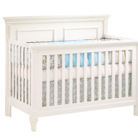 "Belmont ""5-in-1"" white Convertible Crib"