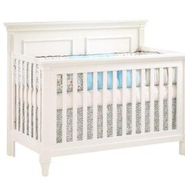 "Belmont ""5-in-1"" white Convertible Crib"
