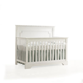 "Ithaca ""5-in-1"" White classic Convertible Crib"