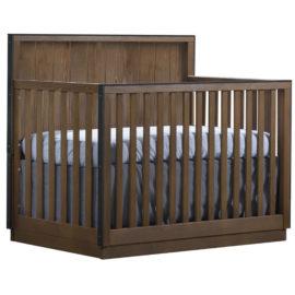 "Valencia ""5-in-1"" dark brown wooden Convertible Crib"