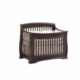 """Bella """"5-in-1"""" Dark wood Convertible Crib"""