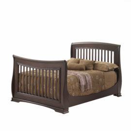 """Bella Dark Wood Double Bed 54"""""""