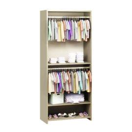 Beige UnMess Convertible Wardrobe System