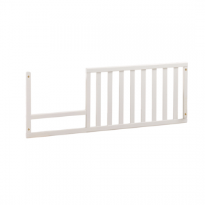 Allegra Gold white Toddler Gate