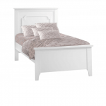 Classic white Twin Bed