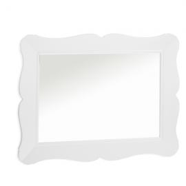 Allegra Gold White Wall Mirror