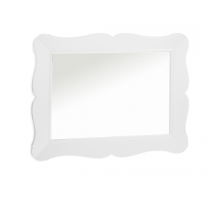 Allegra Gold white Wall Mirror