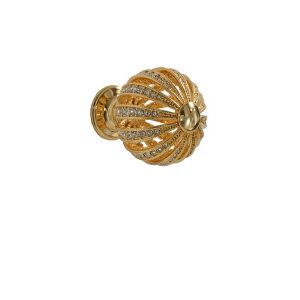 Allegra Gold Dipped Drawer Knobs
