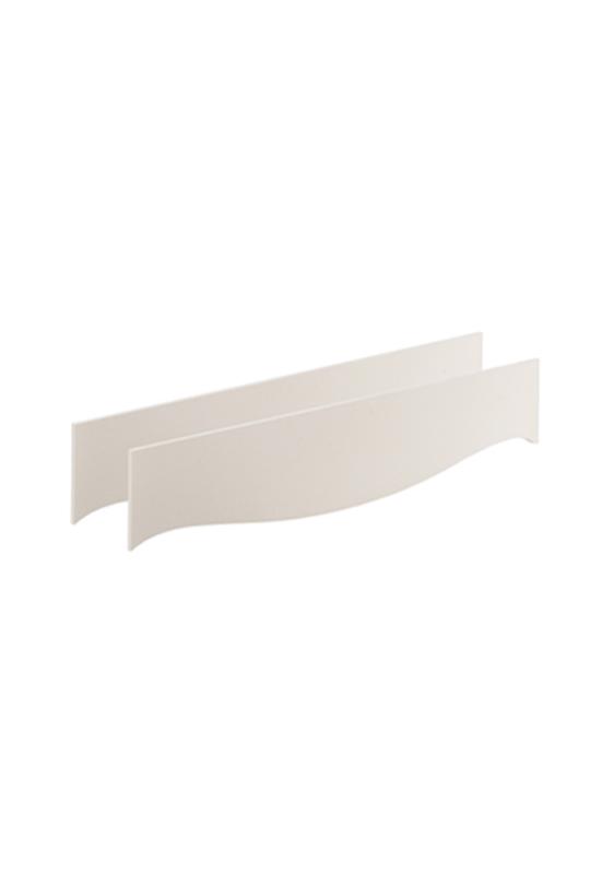 Allegra Gold white Double Bed Conversion Rails