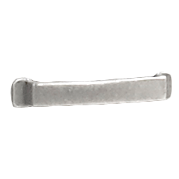 Rustico Moderno Brushed Stainless Drawer Knob