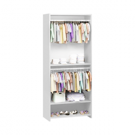 UnMess Convertible Wardrobe System (White)