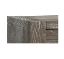 Detailed corner of Mortise & Tenon Joinery (furniture)