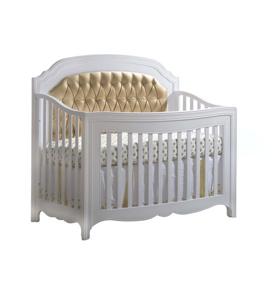 "Allegra ""5-in-1"" Convertible Crib with Upholstered Panel"